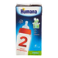 HUMANA 2 GOS SLIM 470ML